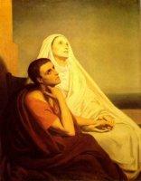 Monika-bersama-putranya-Agustinus