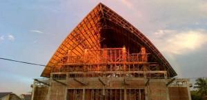 Pembangunan Gereja Santo Ambrosuis